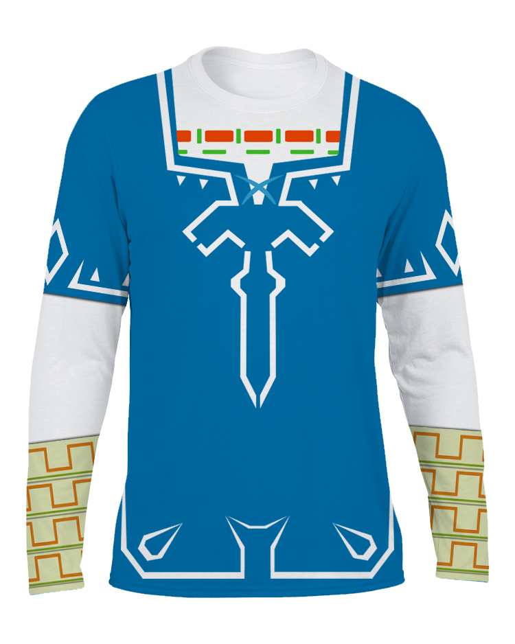 Link Breath Of The Wild Champion Tunic Long Sleeve T Shirt